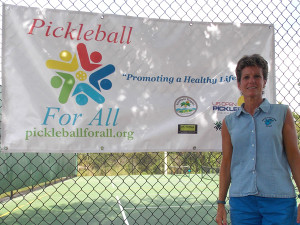 "Laura Mahn, a dedicated PE teacher at Avalon Elementary School, believes that Pickleball For All was her ""field of dreams."""